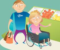services aux handicapés